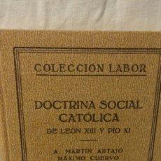 Libros antiguos: DOCTRINA SOCIAL CRISTIANA . Lote 94007975