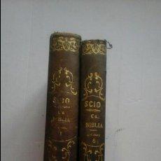 Libros antiguos: LA SAGRADA BIBLIA.. Lote 94776427