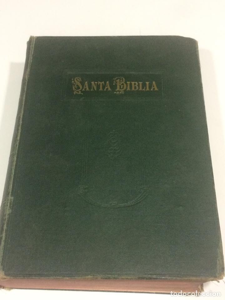 SANTA BIBLIA LOS SAGRADOS LIBROS DE ANTIGUO Y NUEVO TESTAMENTO 1920 (Libros Antiguos, Raros y Curiosos - Religión)