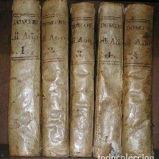 Libros antiguos: CROISET, JEAN: AÑO CHRISTIANO O EXERCICIOS DEVOTOS PARA TODOS LOS DOMINGOS, QUARESMA... 1785. Lote 95399131