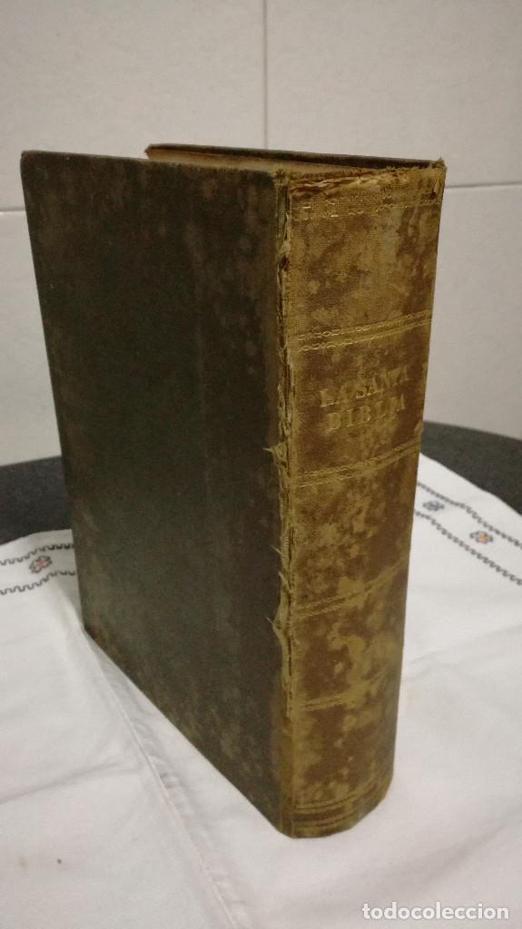 Libros antiguos: 9-LA SANTA BIBLIA, antigua version de Cipriano Valera, 1911 - Foto 2 - 95532563