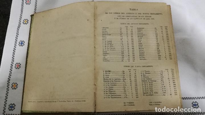 Libros antiguos: 9-LA SANTA BIBLIA, antigua version de Cipriano Valera, 1911 - Foto 5 - 95532563