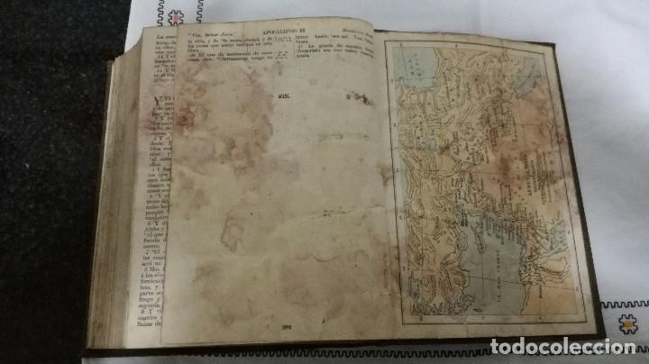 Libros antiguos: 9-LA SANTA BIBLIA, antigua version de Cipriano Valera, 1911 - Foto 9 - 95532563