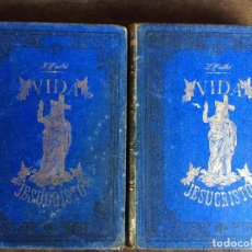 Libros antiguos: VIDA DE JESUCRISTO - M LOUIS VELLOT - DOS TOMOS - ILUSTRADA- 2ª EDICIÓN 1894. Lote 95691179