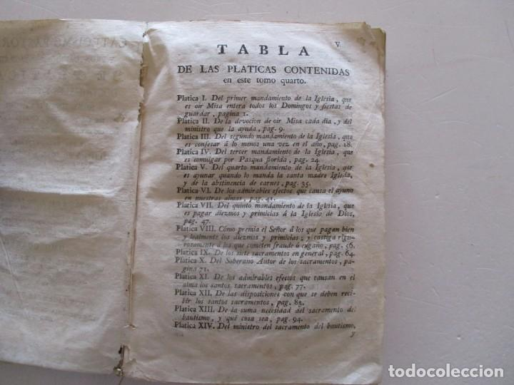Libros antiguos: DOCTOR DON PEDRO SALSAS Y TRILLAS. Catecismo pastoral. Tomo Quarto. RM82307. - Foto 3 - 95852719