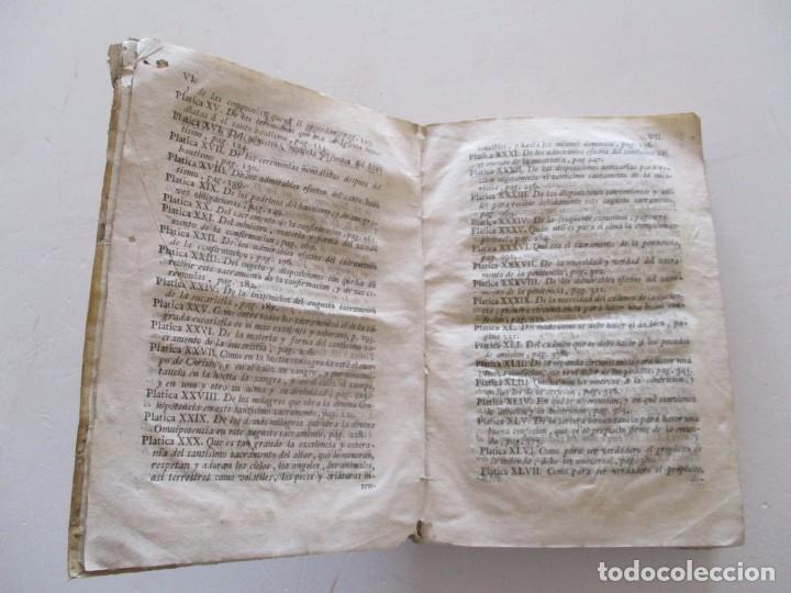Libros antiguos: DOCTOR DON PEDRO SALSAS Y TRILLAS. Catecismo pastoral. Tomo Quarto. RM82307. - Foto 4 - 95852719