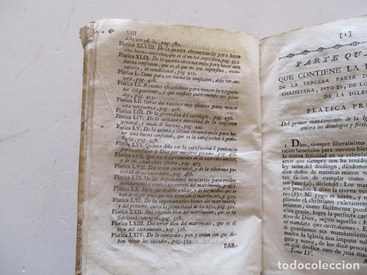 Libros antiguos: DOCTOR DON PEDRO SALSAS Y TRILLAS. Catecismo pastoral. Tomo Quarto. RM82307. - Foto 5 - 95852719