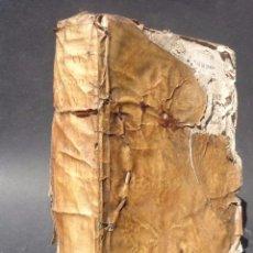 Libros antiguos: 1781 - CATECHISMUS AD PAROCHOS CONCIL. TRIDENTIN - SAN PIO V - CATECISMO - PERGAMINO - IBARRA. Lote 95997375