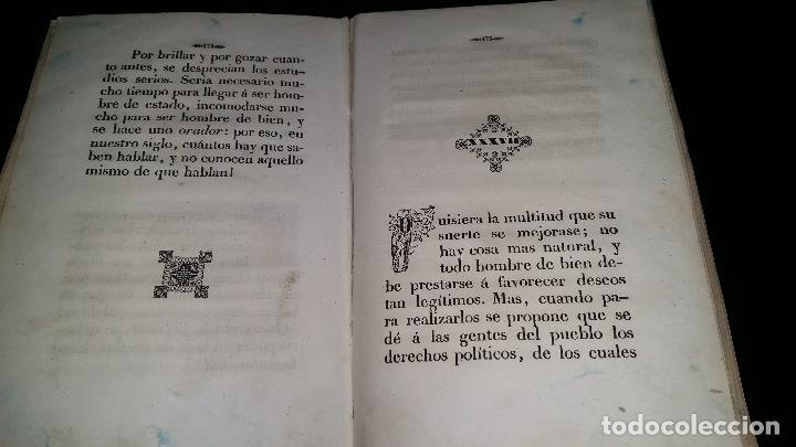 Libros antiguos: PENSAMIENTOS SOBRE EL CRISTIANISMO y pruebas de su verdad / jose droz / 1845 - Foto 6 - 96177959