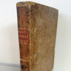 Libros antiguos: AÑO 1804: SERMONES PANEGÍRICOS DE VARIOS MISTERIOS (2), FESTIVIDADES Y SANTOS, FRAY PANTALEON GARCIA. Lote 96565647