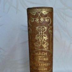 Libros antiguos: LIBRO ANTIGUO ENCUADERNADO EN PIEL.AÑO 1876. Lote 96668667
