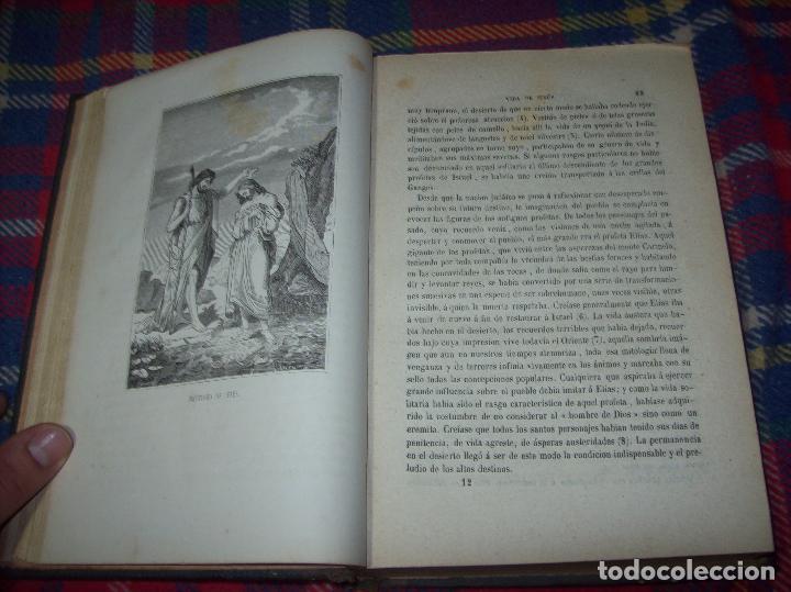 Libros antiguos: OBRAS DE M. ERNESTO RENAN : VIDA DE JESÚS / LOS APÓSTOLES / SAN PABLO. 1869. UNA JOYA!!!!!!!!! - Foto 4 - 97174223
