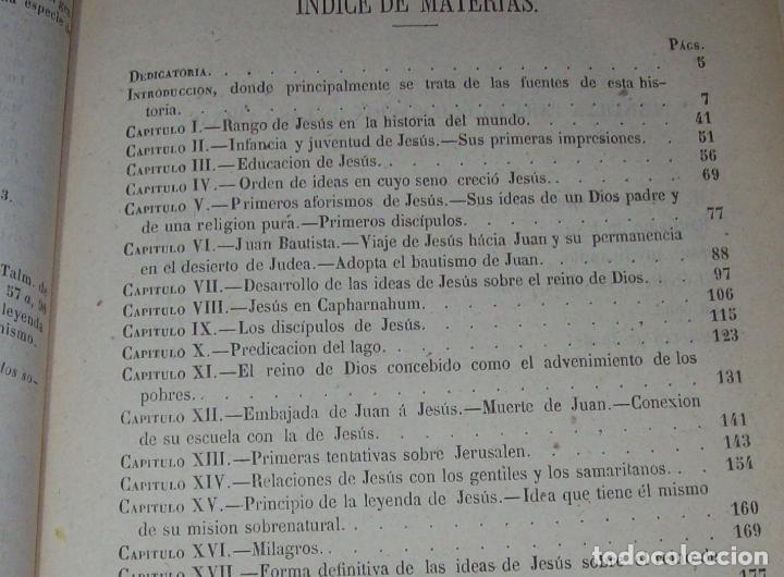 Libros antiguos: OBRAS DE M. ERNESTO RENAN : VIDA DE JESÚS / LOS APÓSTOLES / SAN PABLO. 1869. UNA JOYA!!!!!!!!! - Foto 9 - 97174223