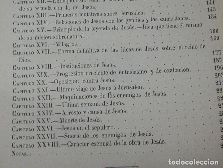 Libros antiguos: OBRAS DE M. ERNESTO RENAN : VIDA DE JESÚS / LOS APÓSTOLES / SAN PABLO. 1869. UNA JOYA!!!!!!!!! - Foto 10 - 97174223