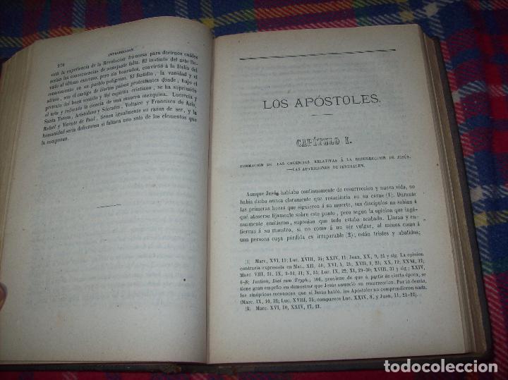 Libros antiguos: OBRAS DE M. ERNESTO RENAN : VIDA DE JESÚS / LOS APÓSTOLES / SAN PABLO. 1869. UNA JOYA!!!!!!!!! - Foto 12 - 97174223
