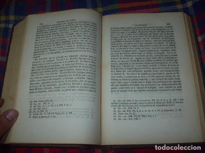 Libros antiguos: OBRAS DE M. ERNESTO RENAN : VIDA DE JESÚS / LOS APÓSTOLES / SAN PABLO. 1869. UNA JOYA!!!!!!!!! - Foto 13 - 97174223