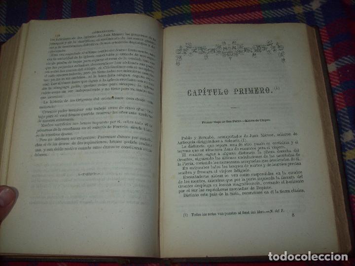 Libros antiguos: OBRAS DE M. ERNESTO RENAN : VIDA DE JESÚS / LOS APÓSTOLES / SAN PABLO. 1869. UNA JOYA!!!!!!!!! - Foto 17 - 97174223