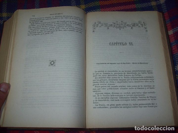 Libros antiguos: OBRAS DE M. ERNESTO RENAN : VIDA DE JESÚS / LOS APÓSTOLES / SAN PABLO. 1869. UNA JOYA!!!!!!!!! - Foto 18 - 97174223