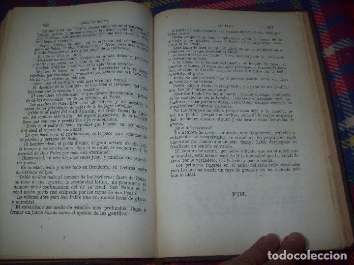Libros antiguos: OBRAS DE M. ERNESTO RENAN : VIDA DE JESÚS / LOS APÓSTOLES / SAN PABLO. 1869. UNA JOYA!!!!!!!!! - Foto 21 - 97174223