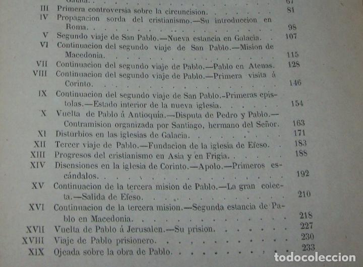 Libros antiguos: OBRAS DE M. ERNESTO RENAN : VIDA DE JESÚS / LOS APÓSTOLES / SAN PABLO. 1869. UNA JOYA!!!!!!!!! - Foto 27 - 97174223