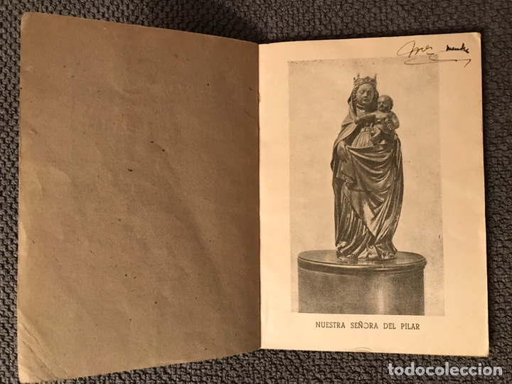Libros antiguos: NOVENARIO MARIA SANTISIMA DEL PILAR (a.1939) - Foto 2 - 97220723