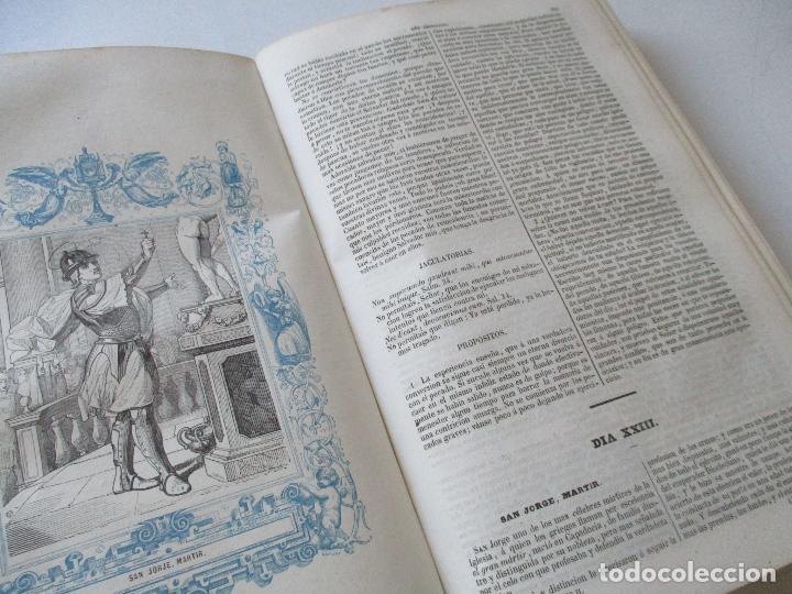 Libros antiguos: AÑO CRISTIANO-TOMO II-JUAN CROISSET-MADRID-IMPRENTA DE GASPAR Y ROIG, EDT-1852- CON LÁMINAS, (93) - Foto 7 - 97240355