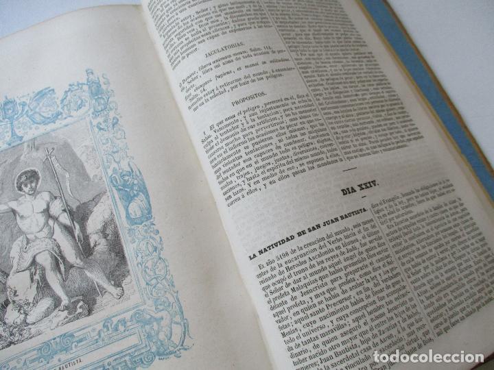 Libros antiguos: AÑO CRISTIANO-TOMO II-JUAN CROISSET-MADRID-IMPRENTA DE GASPAR Y ROIG, EDT-1852- CON LÁMINAS, (93) - Foto 8 - 97240355