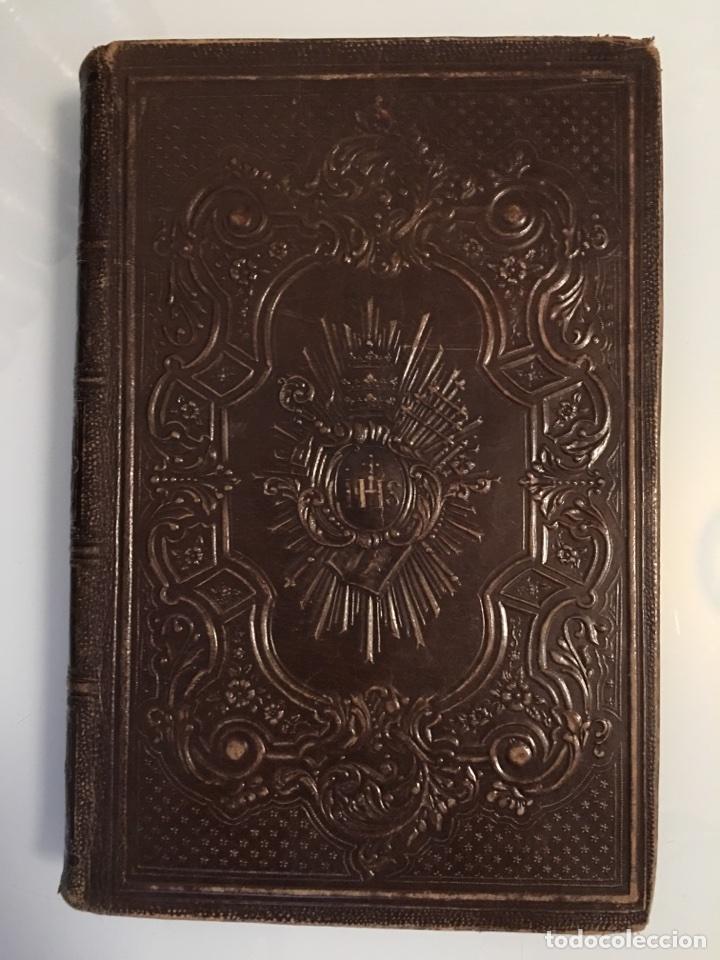 Libros antiguos: AÑO CRISTIANO - 12 TOMOS - 1862 - Foto 2 - 97325139