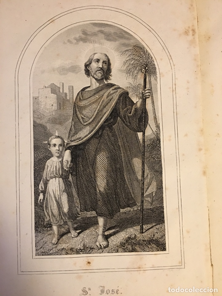 Libros antiguos: AÑO CRISTIANO - 12 TOMOS - 1862 - Foto 6 - 97325139