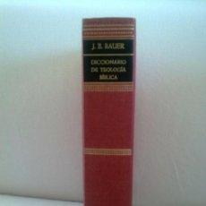 Libros antiguos: DICCIONARIO DE TEOLOGIA BIBLICA. Lote 97780855