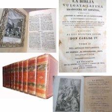 Libros antiguos: BIBLIA VULGATA LATINA. PADRE PHELIPE SCIO DE SAN MIGUEL. 1791. Lote 97786611