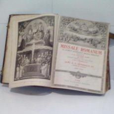 Libros antiguos: MISSAL ROMANUM EX DECRETO SACRO SANCTI CONCILII TRIDENTINI RESTITUTUM. Lote 98673563