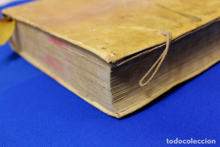 Usado, Fenomenal Libro año 1770, Venecia, tapas de cuero segunda mano