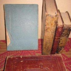 Alte Bücher - INTERESANTE LOTE DE 5 LIBROS RELIGIOSOS SIGLOS XVIII Y XIX. - 99517331