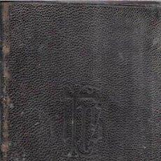 Libros antiguos: BREVARIUM ROMANUM EX DECRETO SS.CONCILII TRIDENTINI. 1901.. Lote 99699379