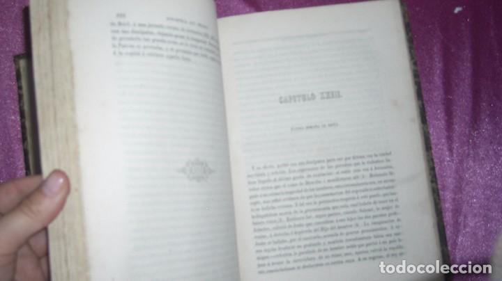 Libros antiguos: VIDA DE JESUS ERNESTO RENAN .TRADUCCIÓN DE AGUSTÍN G. TIRADO 1869 BARCELONA ILUSTRADO - Foto 8 - 99716371