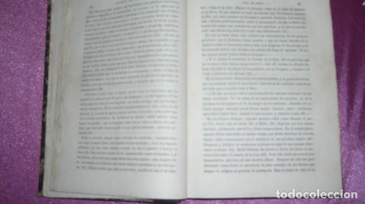 Libros antiguos: VIDA DE JESUS ERNESTO RENAN .TRADUCCIÓN DE AGUSTÍN G. TIRADO 1869 BARCELONA ILUSTRADO - Foto 10 - 99716371
