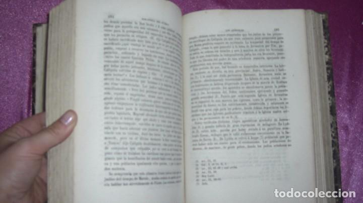 Libros antiguos: VIDA DE JESUS ERNESTO RENAN .TRADUCCIÓN DE AGUSTÍN G. TIRADO 1869 BARCELONA ILUSTRADO - Foto 12 - 99716371