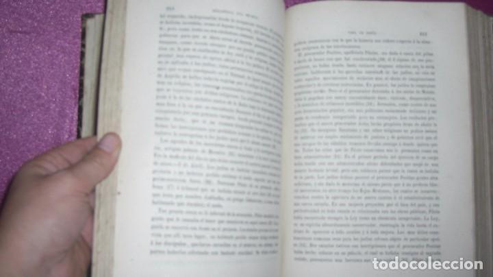 Libros antiguos: VIDA DE JESUS ERNESTO RENAN .TRADUCCIÓN DE AGUSTÍN G. TIRADO 1869 BARCELONA ILUSTRADO - Foto 14 - 99716371
