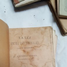 Libros antiguos: LIBRO CANTOS RELIGIOSOS DON ANTONIO ARNAO. Lote 99789946