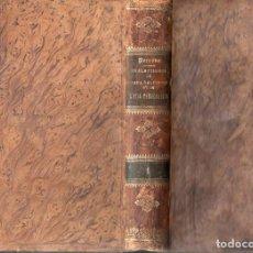 Libros antiguos: JOANNES PERRONE : PRAELECTIONES DE VERA RELIGIONE PARS PRIMA (SUBIRANA, 1887) LATIN. Lote 100226167