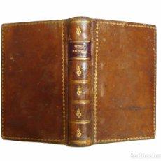 Libros antiguos: VALENCIA, 1795 - OFFICIA PROPRIA SANCTORUM. BREVIARIO ROMANO - LATÍN - VALENTIAE, SALVATOREM FAULÍ. Lote 100597207