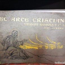 Libros antiguos: ARTE CRISTIANO CATALOGO SEMANA SANTA VIA CRUCIS 1906 OLOT. Lote 100599019