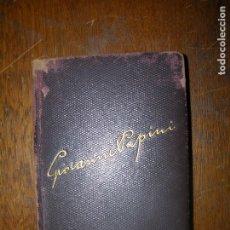 Libros antiguos: (F.1) HISTORIA DE CRISTO POR GIOVANNI PANINI AÑO 1944. Lote 101089755