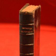 Libros antiguos: IMITACION DE CRISTO KEMPIS MINIATURA 1866 JUAN EUSEBIO NIEREMBERG. Lote 101393435