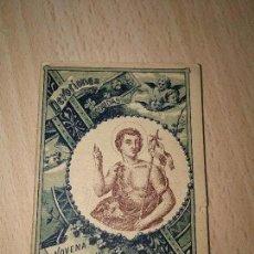 Libros antiguos: NOVENA DE SAN JUAN BAUTISTA. DE CALLEJA, DEVOCIONES ESCOGIDAS. Lote 101429355