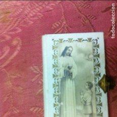 Libros antiguos: (F.1) PEQUEÑO MISAL DE PRIMERA COMUNIÓN HORAS MÍSTICAS AÑO 1945 EN PIEL. Lote 101476143