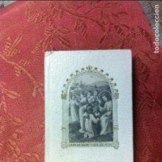Libros antiguos: (F.1) MISAL DE PRIMERA COMUNIÓN MI ÁNGEL TUTELAR EN PIEL O SIMIL. Lote 101476619