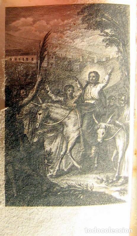 Libros antiguos: OFICIOS DE LA SEMANA SANTA -1837 - Foto 3 - 101668719