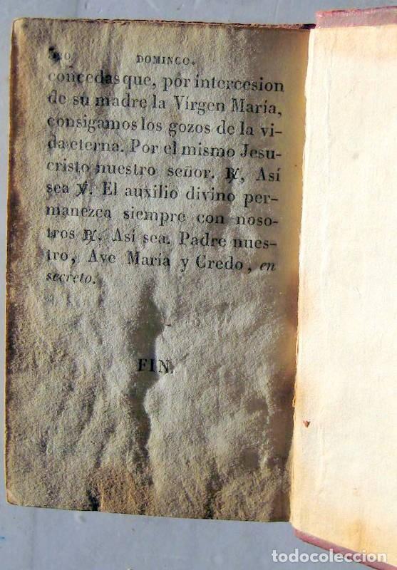 Libros antiguos: OFICIOS DE LA SEMANA SANTA -1837 - Foto 6 - 101668719